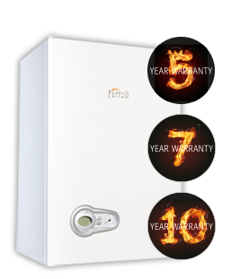 The energy efficient Modena HE domestic combi boiler
